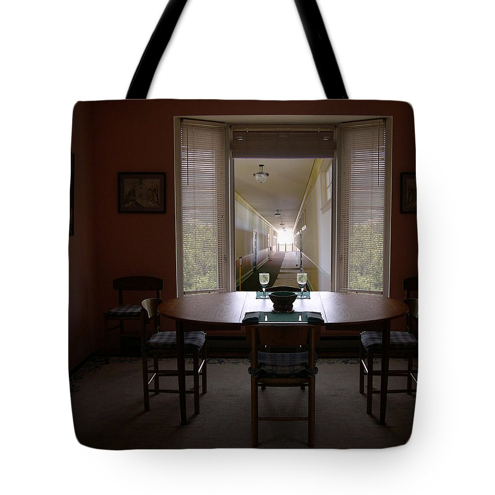 Architecture Tote Bag featuring the photograph 705 by Peter Holme III