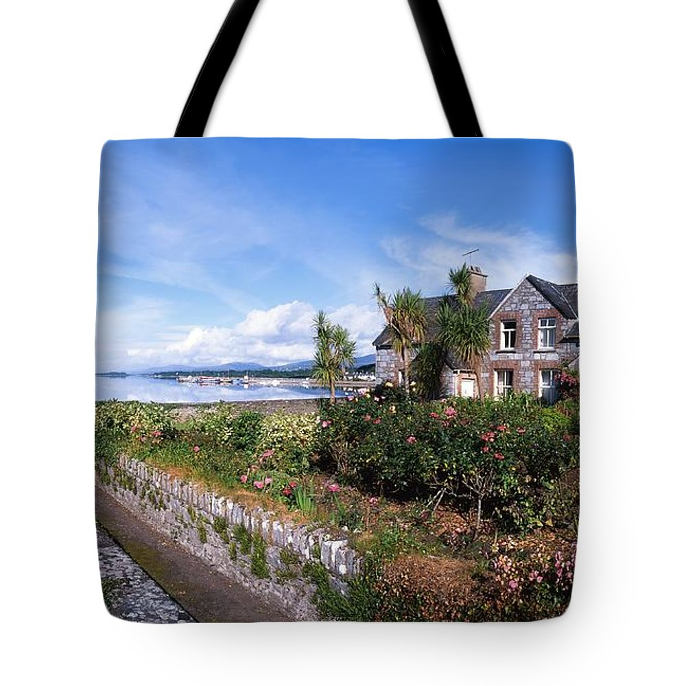 Architecture Tote Bag featuring the photograph Kenmare Bay, Dunkerron Islands, Co by The Irish Image Collection