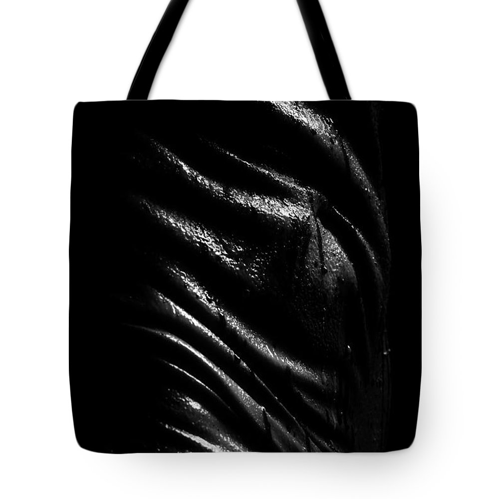 Nude Photographs Tote Bag featuring the photograph Liquid Latex by Pavel Jelinek