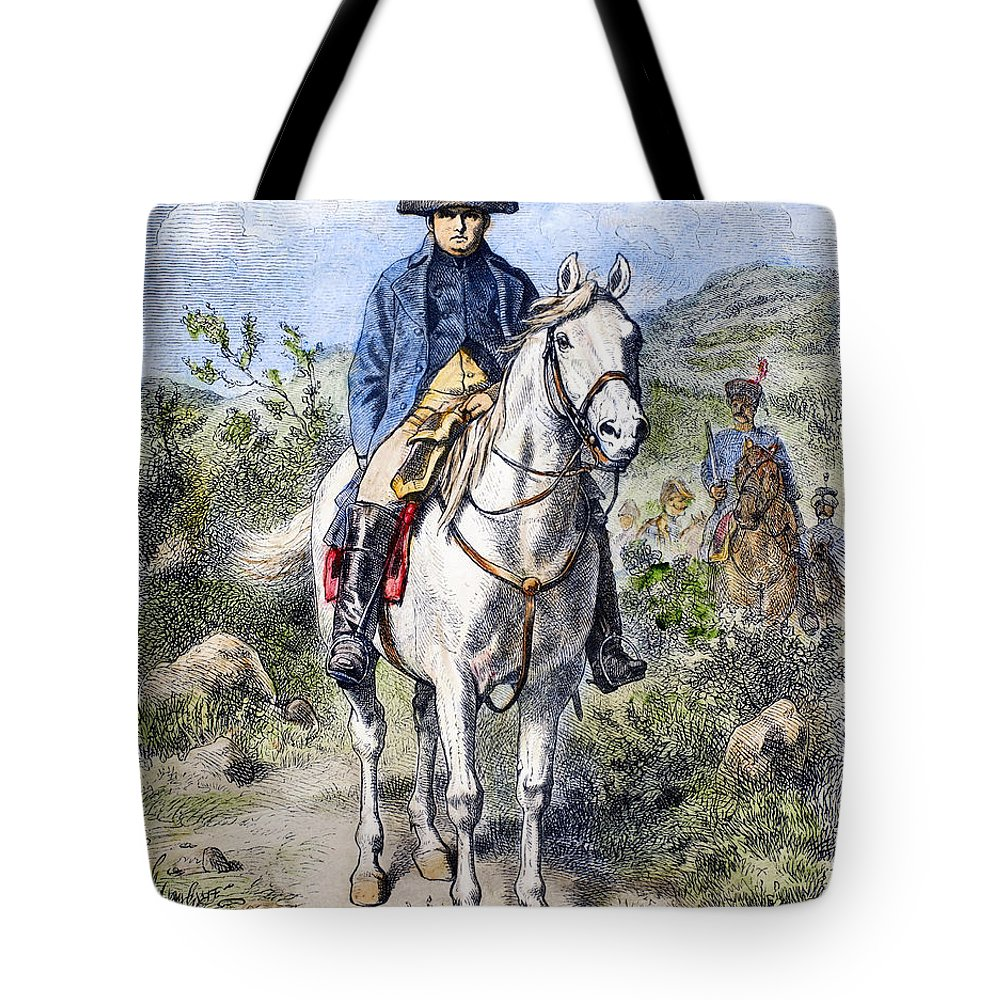 19th Century Tote Bag featuring the photograph Napoleon I (1769-1821) by Granger