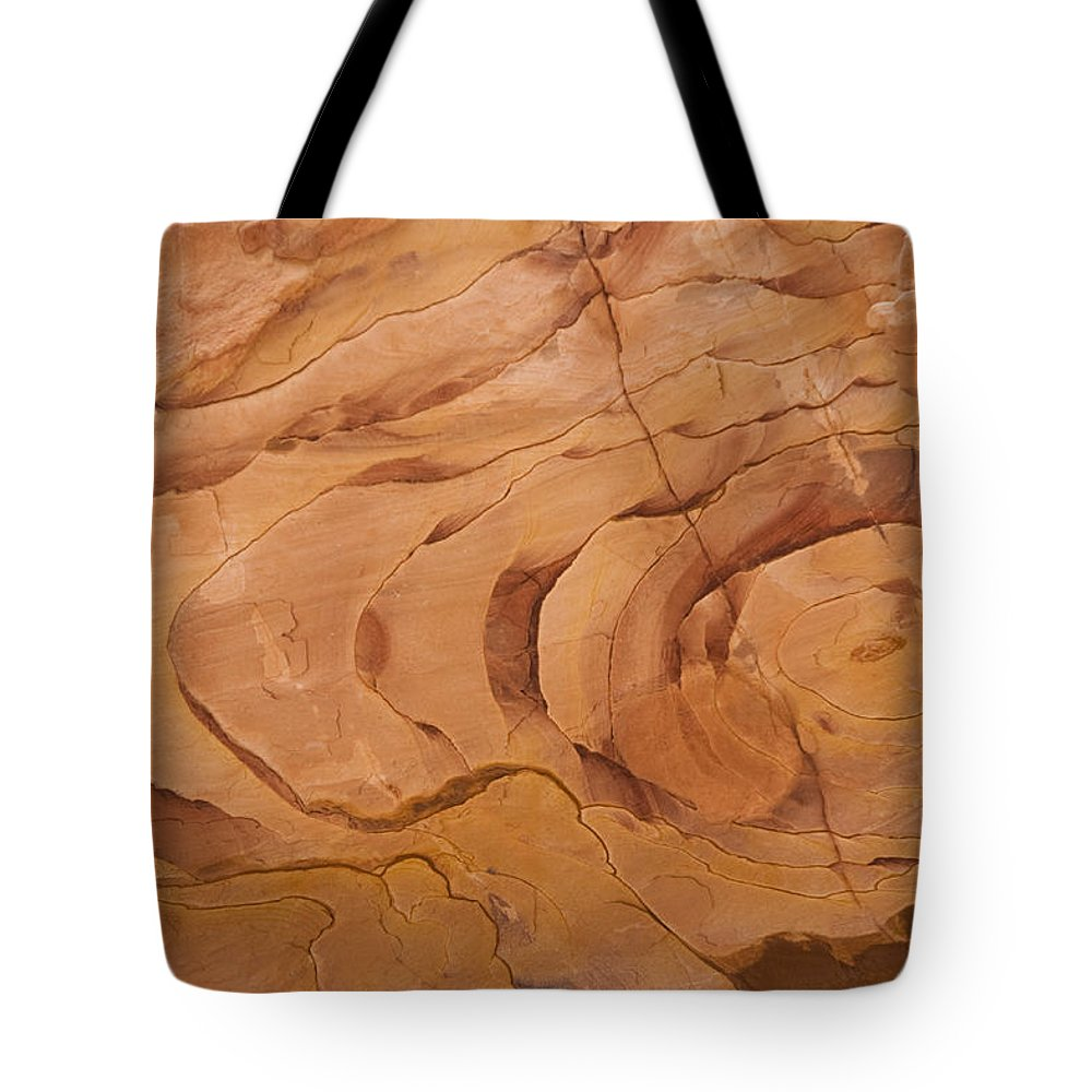 Petra Tote Bag featuring the photograph A Close View Sandstone Rocks Of Petra by Taylor S. Kennedy