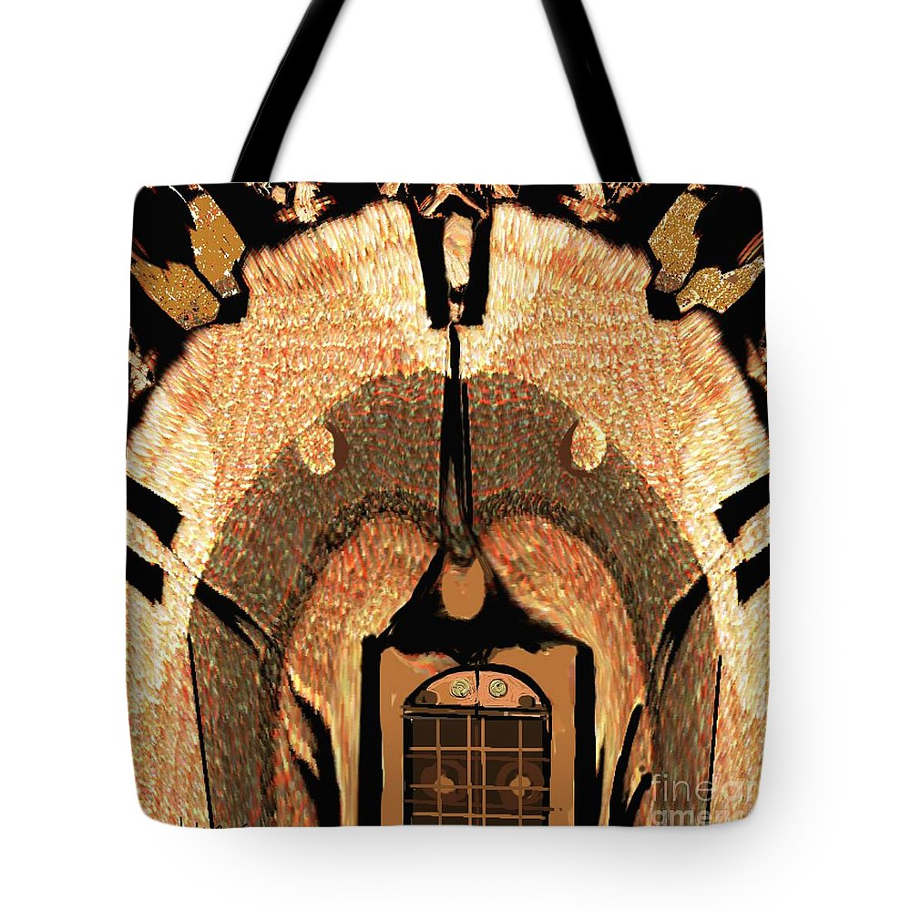 Paintings Tote Bag featuring the painting A Facade by Nedunseralathan R
