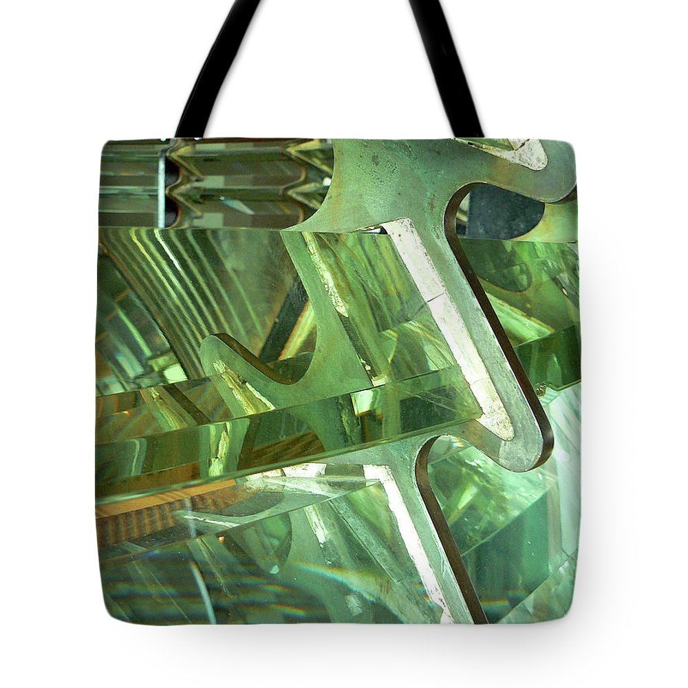 Freshnel Lens Tote Bag featuring the photograph A Fresh View by Pamela Patch