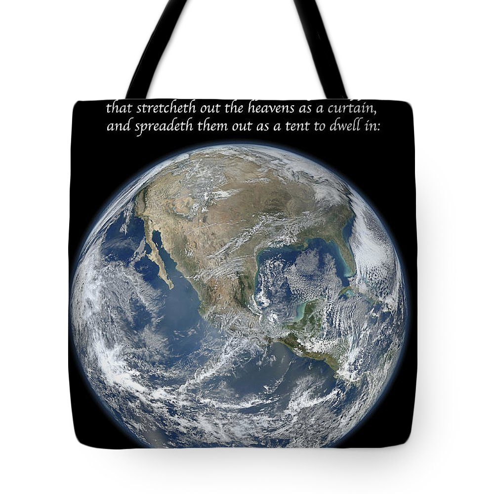 Earth Tote Bag featuring the photograph A Higher View by Michael Peychich