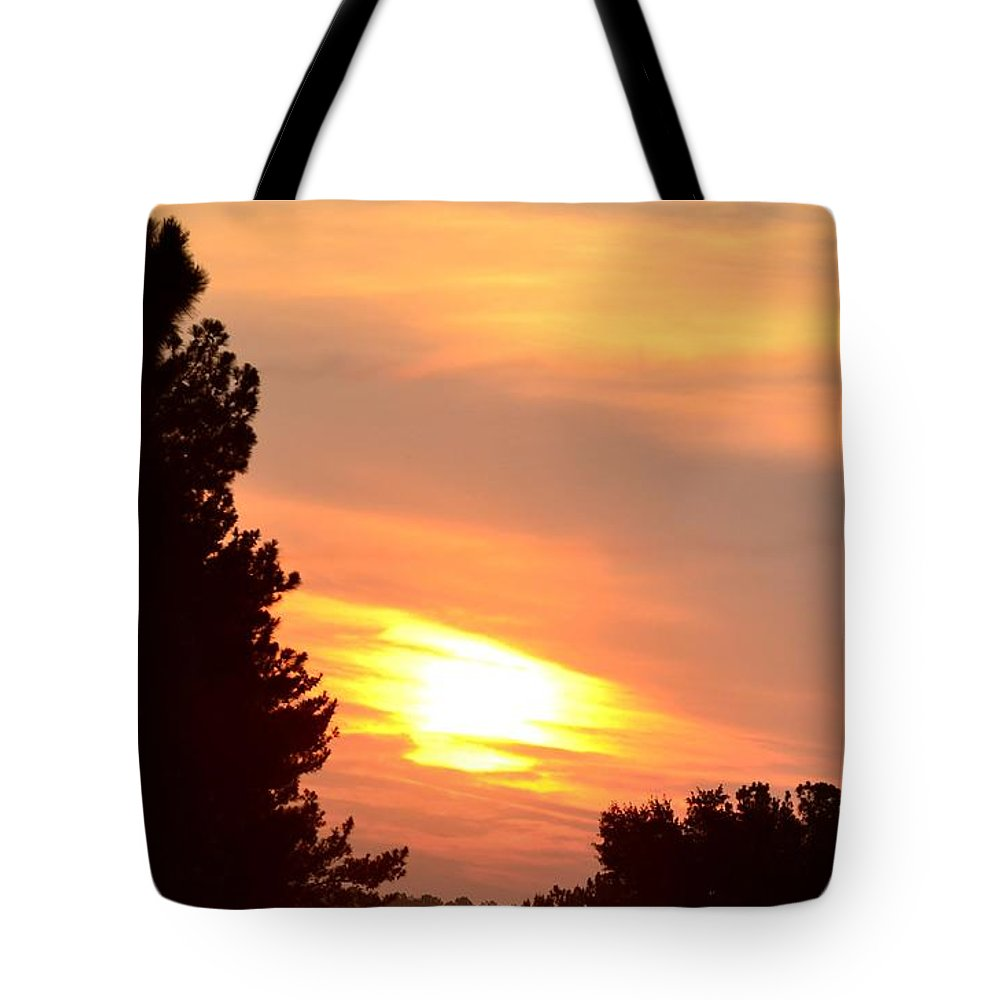 June Tote Bag featuring the photograph A June Sunrise by Maria Urso