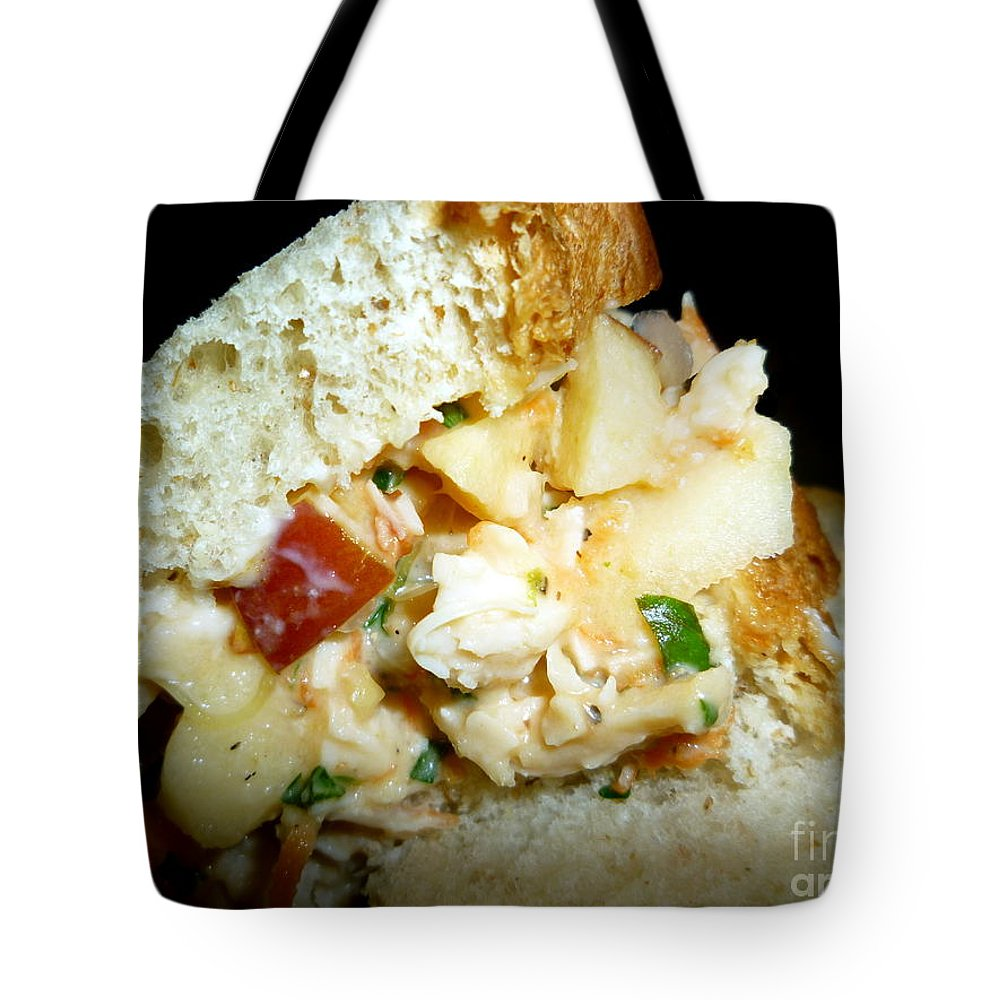 Really Tote Bag featuring the photograph A Really Good Sandwich by Renee Trenholm
