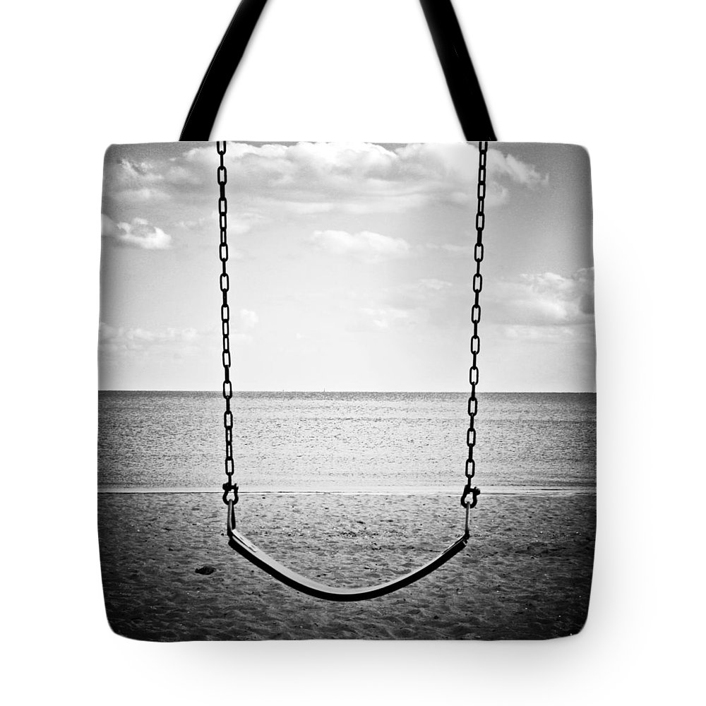 Swing Tote Bag featuring the photograph A Simpler Time by Stephanie McDowell