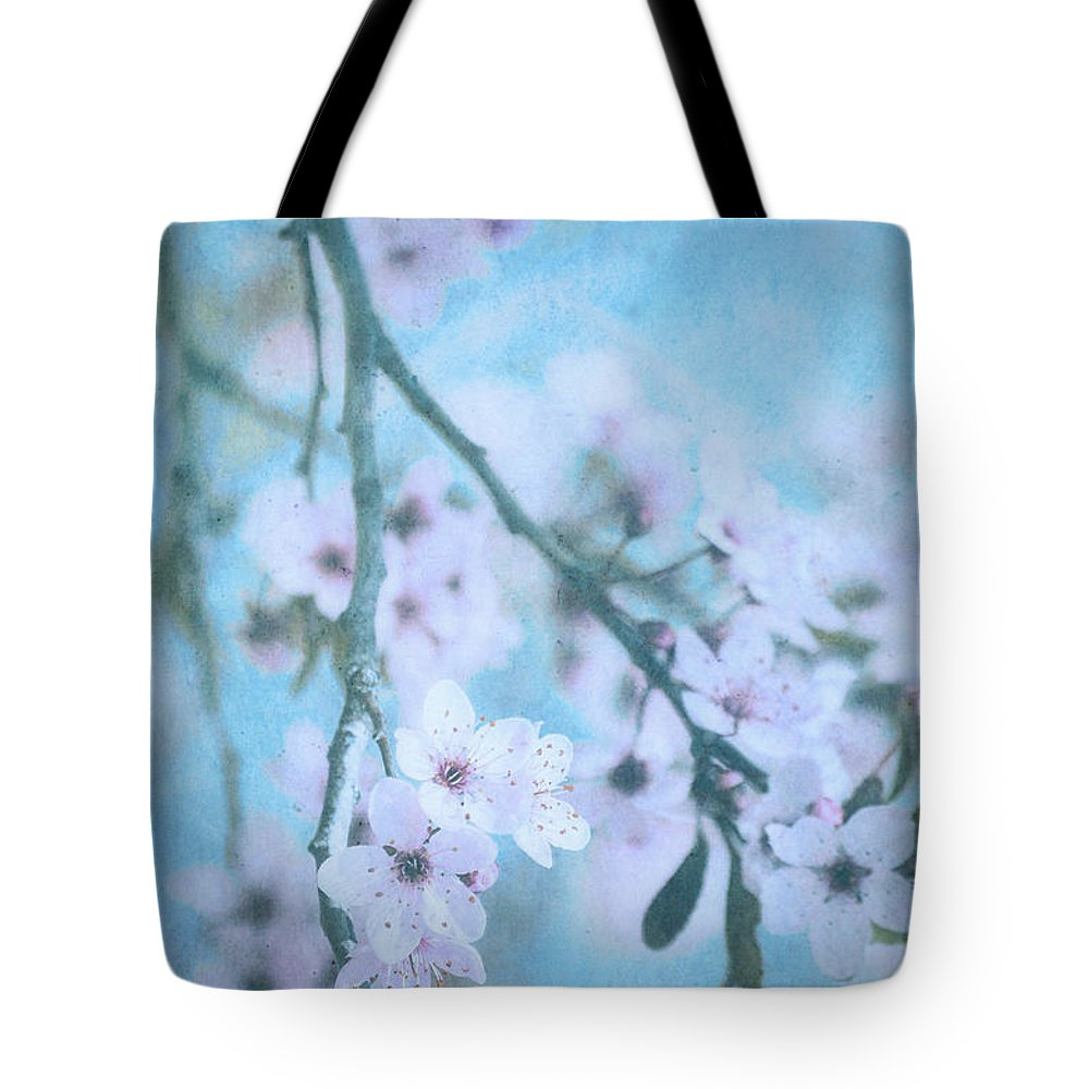Blossoms Tote Bag featuring the photograph A Subtle Spring by Tara Turner