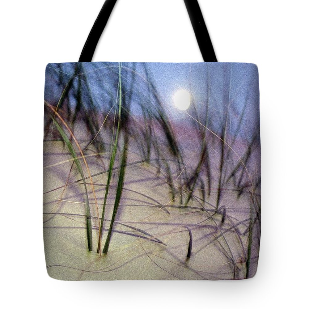 cumberland Island National Seashore Tote Bag featuring the photograph A View Of A Full Moon Rising by Raymond Gehman