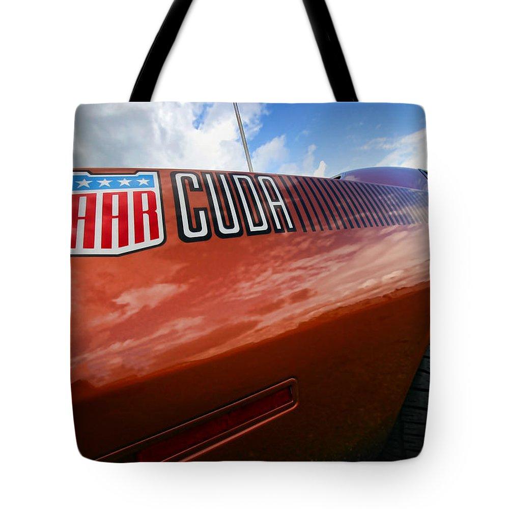 426 Tote Bag featuring the photograph Aar Cuda by Gordon Dean II