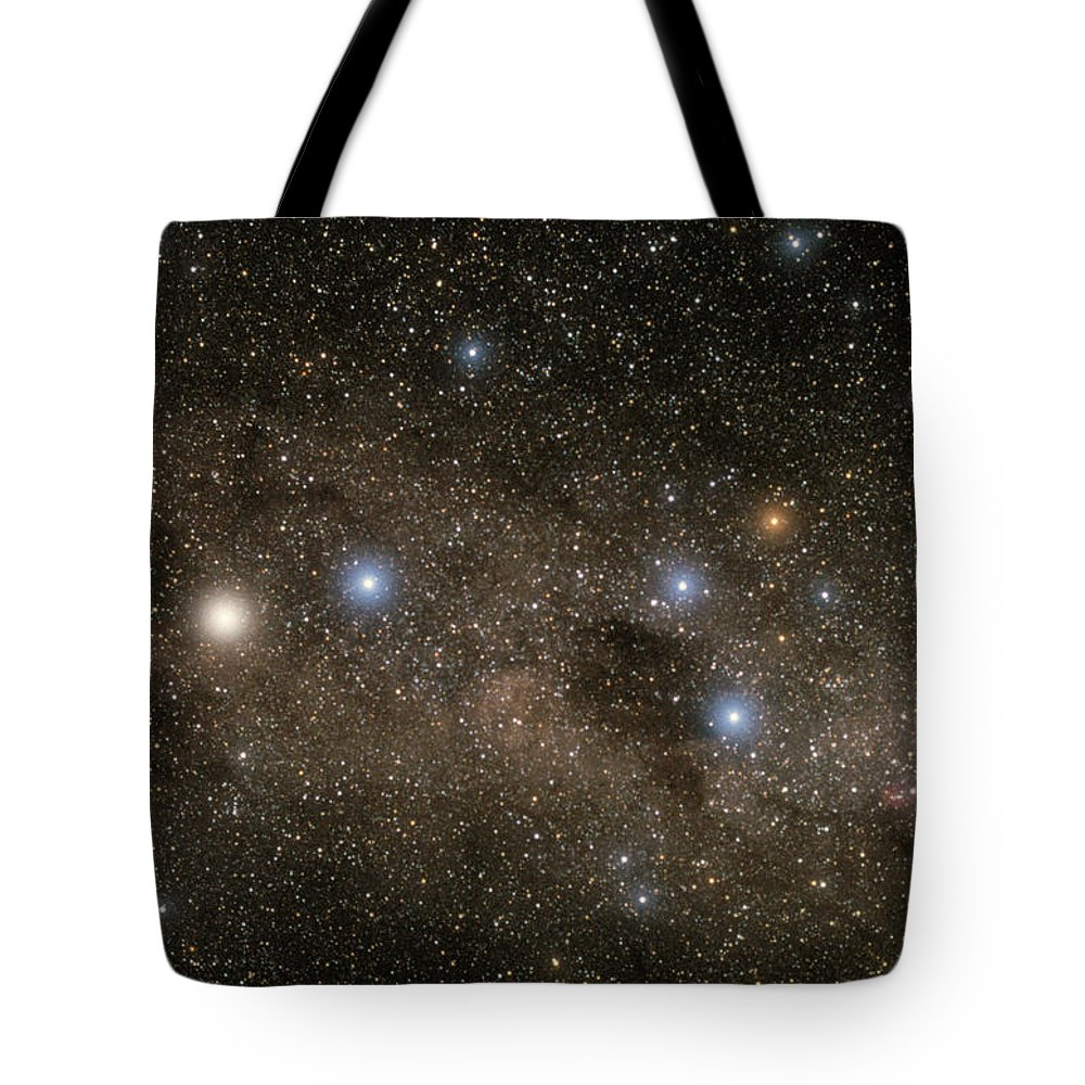 Alpha Centauri A Tote Bag featuring the photograph Ab Centauri Stars In The Southern Cross by Akira Fujii