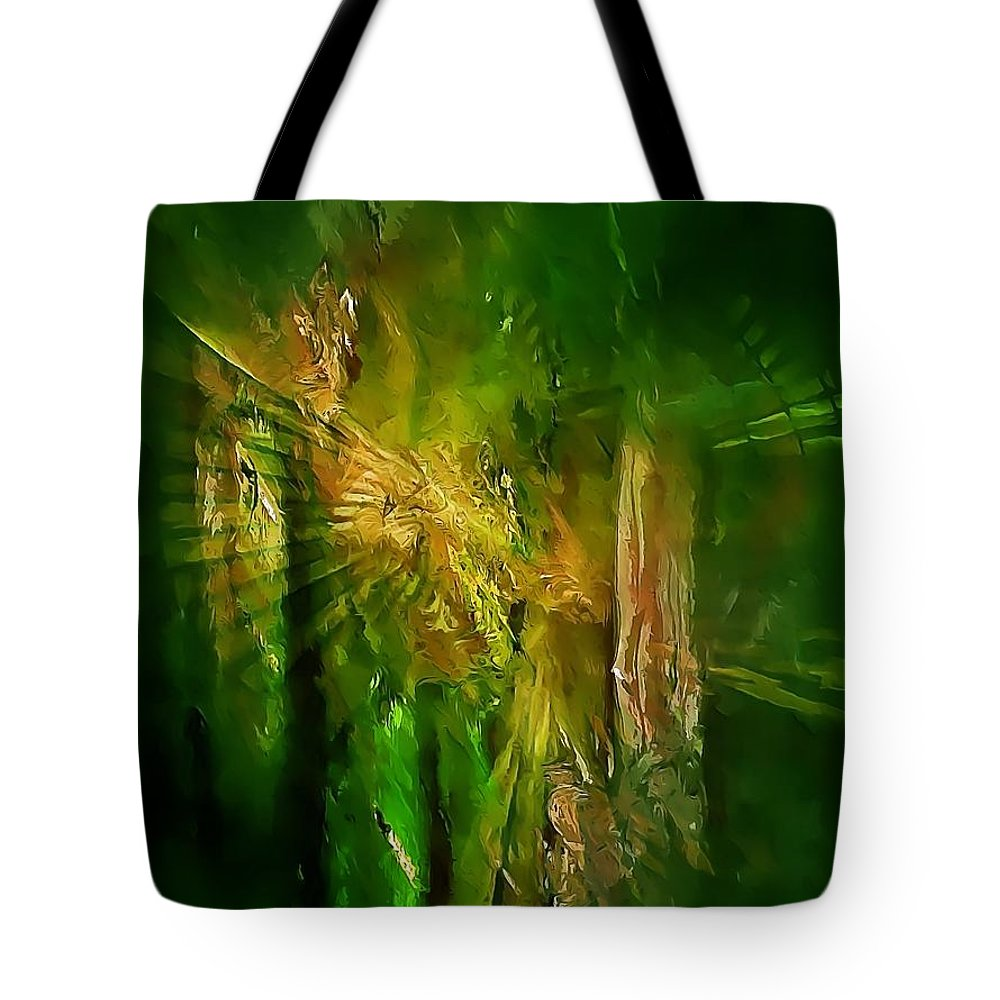 Graphics Tote Bag featuring the digital art Abs 0260 by Marek Lutek