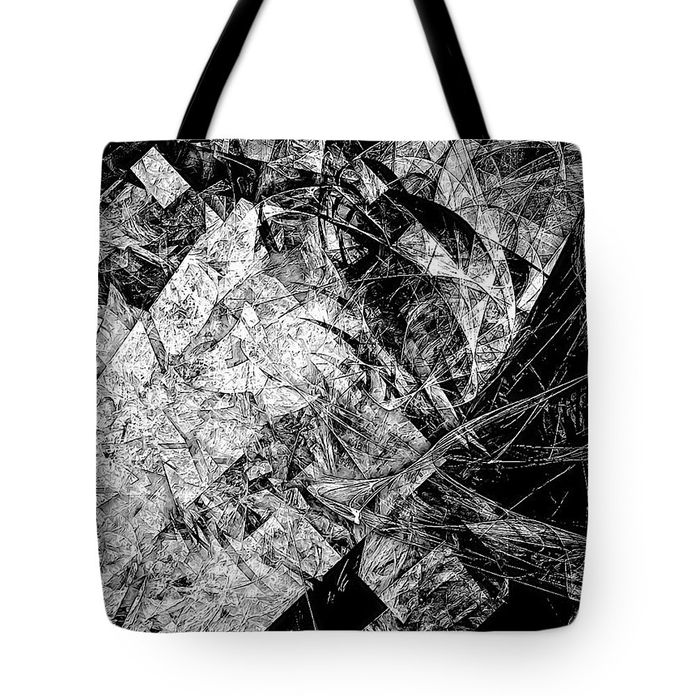 Graphics Tote Bag featuring the digital art Abs 0575 by Marek Lutek