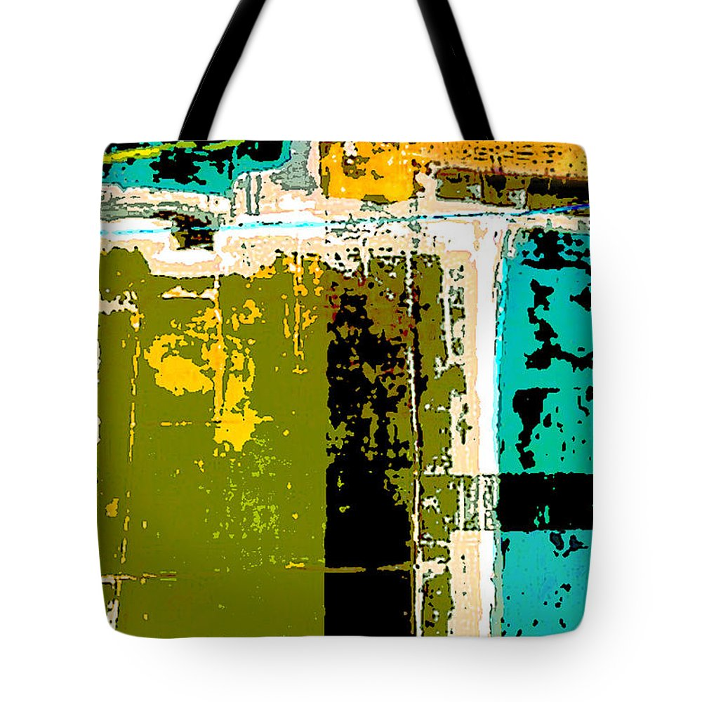 Color Tote Bag featuring the painting Abstract 1 by Glennis Siverson