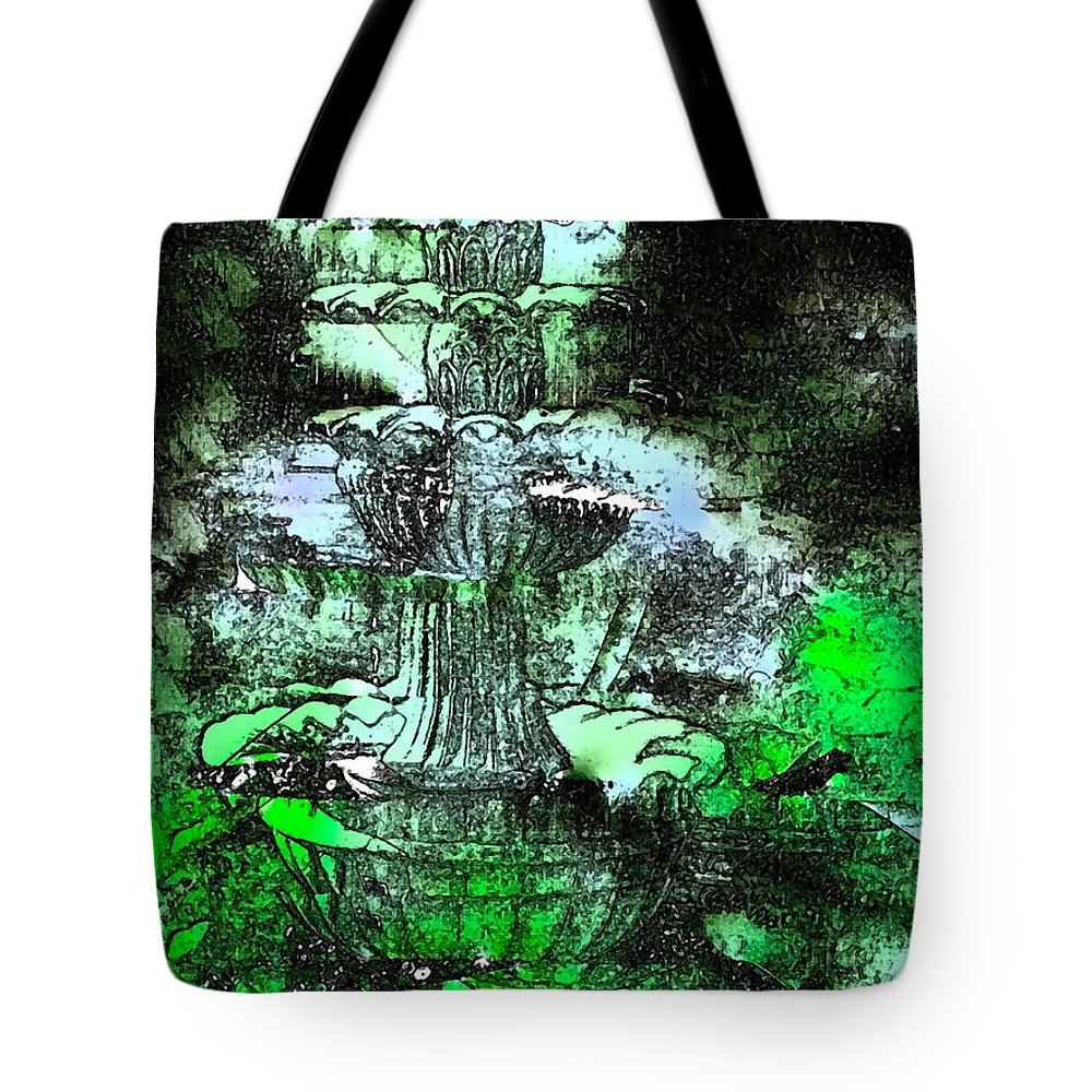 Abstract Tote Bag featuring the photograph Abstract 235 by Pamela Cooper