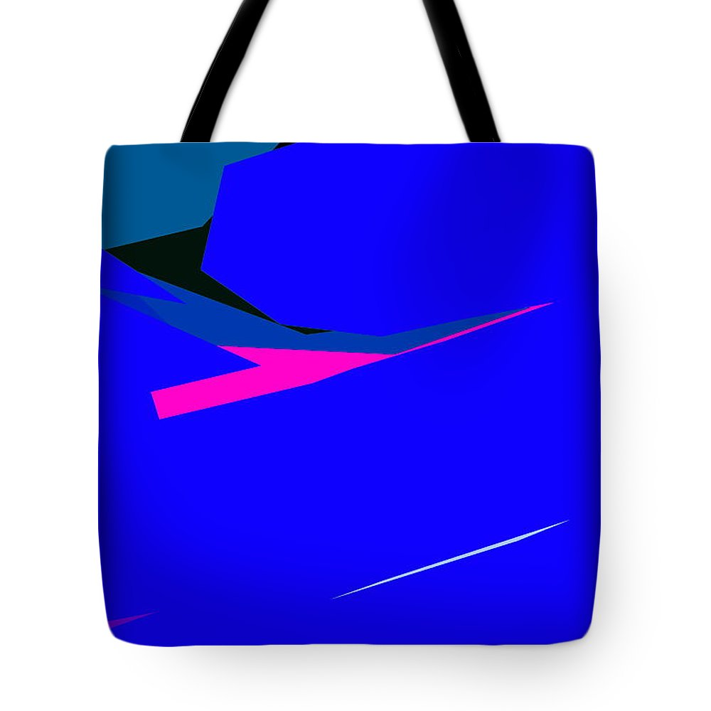 Abstract Tote Bag featuring the photograph Abstract 29 by Burney Lieberman