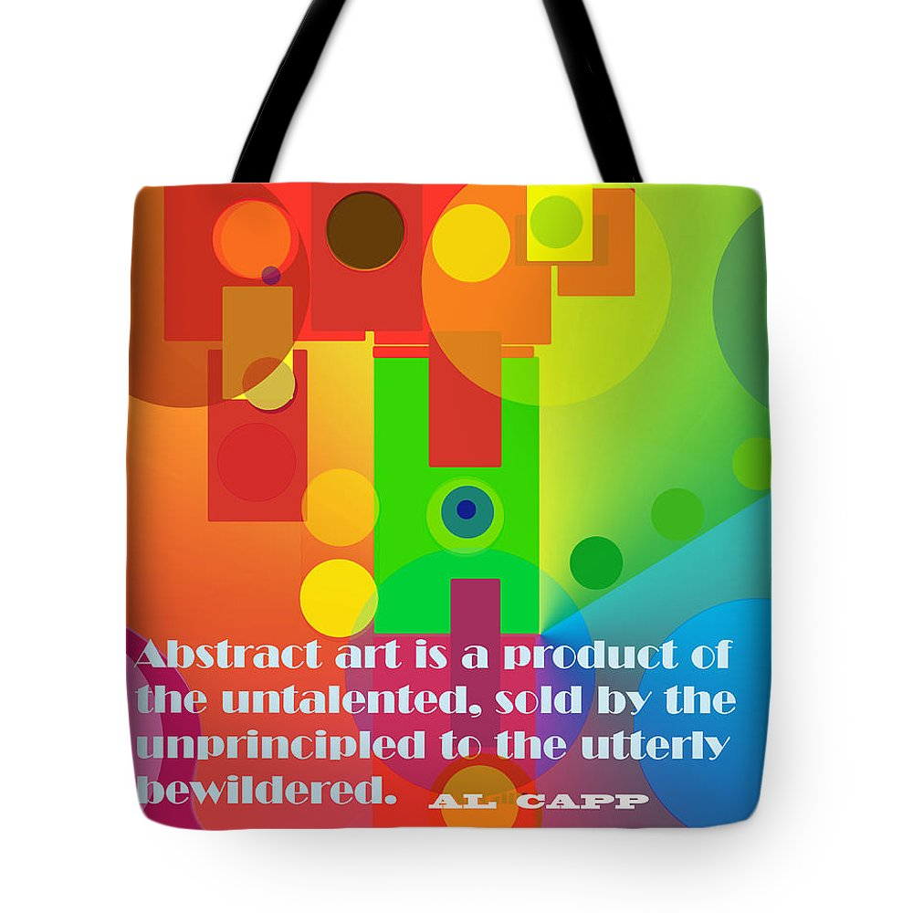 Abstract Tote Bag featuring the photograph Abstract Art by Ian MacDonald