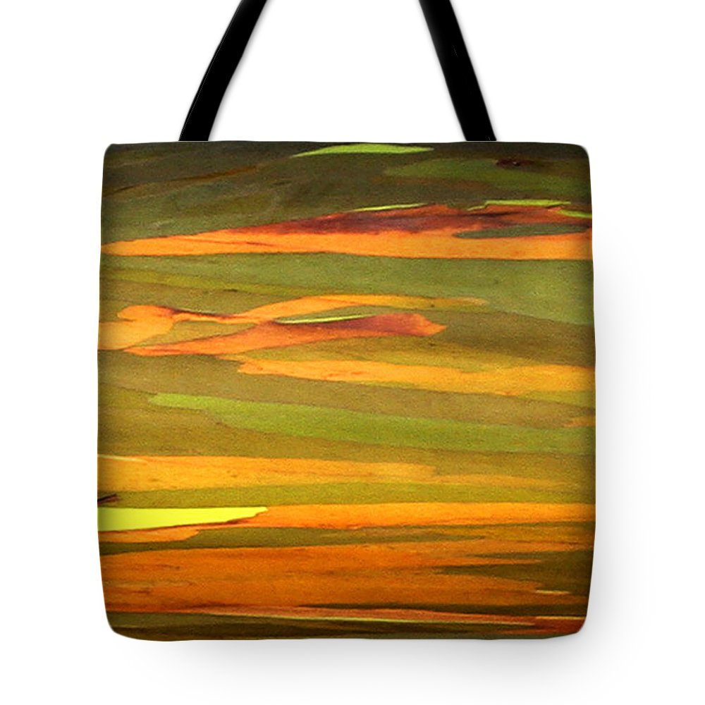 Eucalyptus Tote Bag featuring the photograph Abstract Eucalyptus 2 by Marilyn Hunt