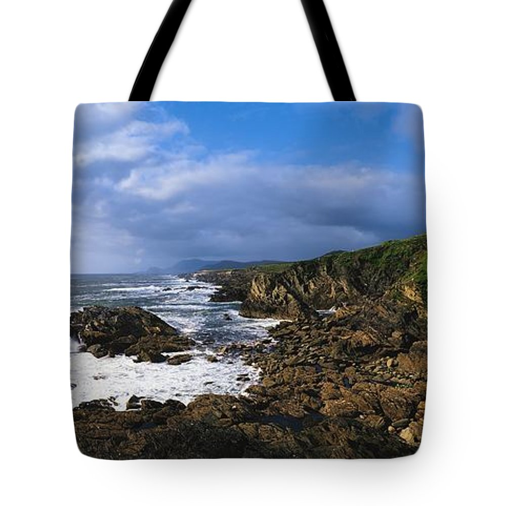 Architectural Detail Tote Bag featuring the photograph Achill Island, Atlantic Drive, Co Mayo by The Irish Image Collection