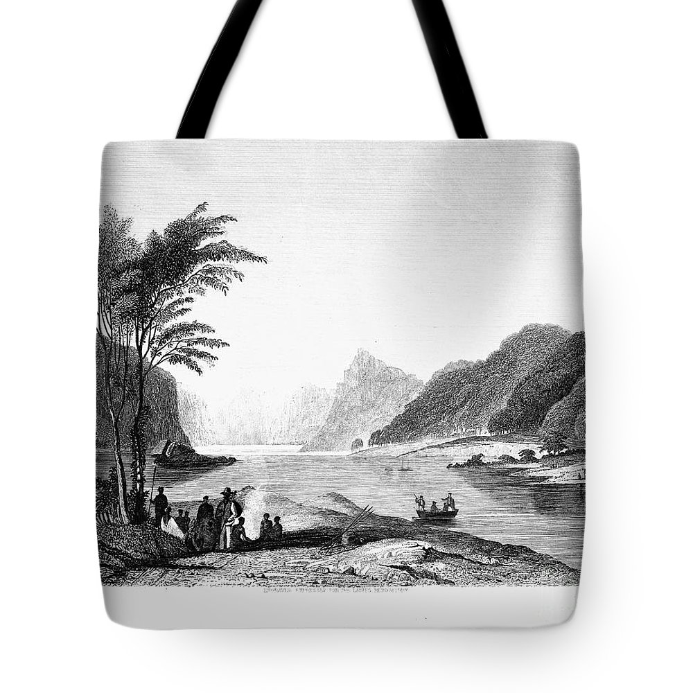 19th Century Tote Bag featuring the photograph Africa: Cape Of Good Hope by Granger