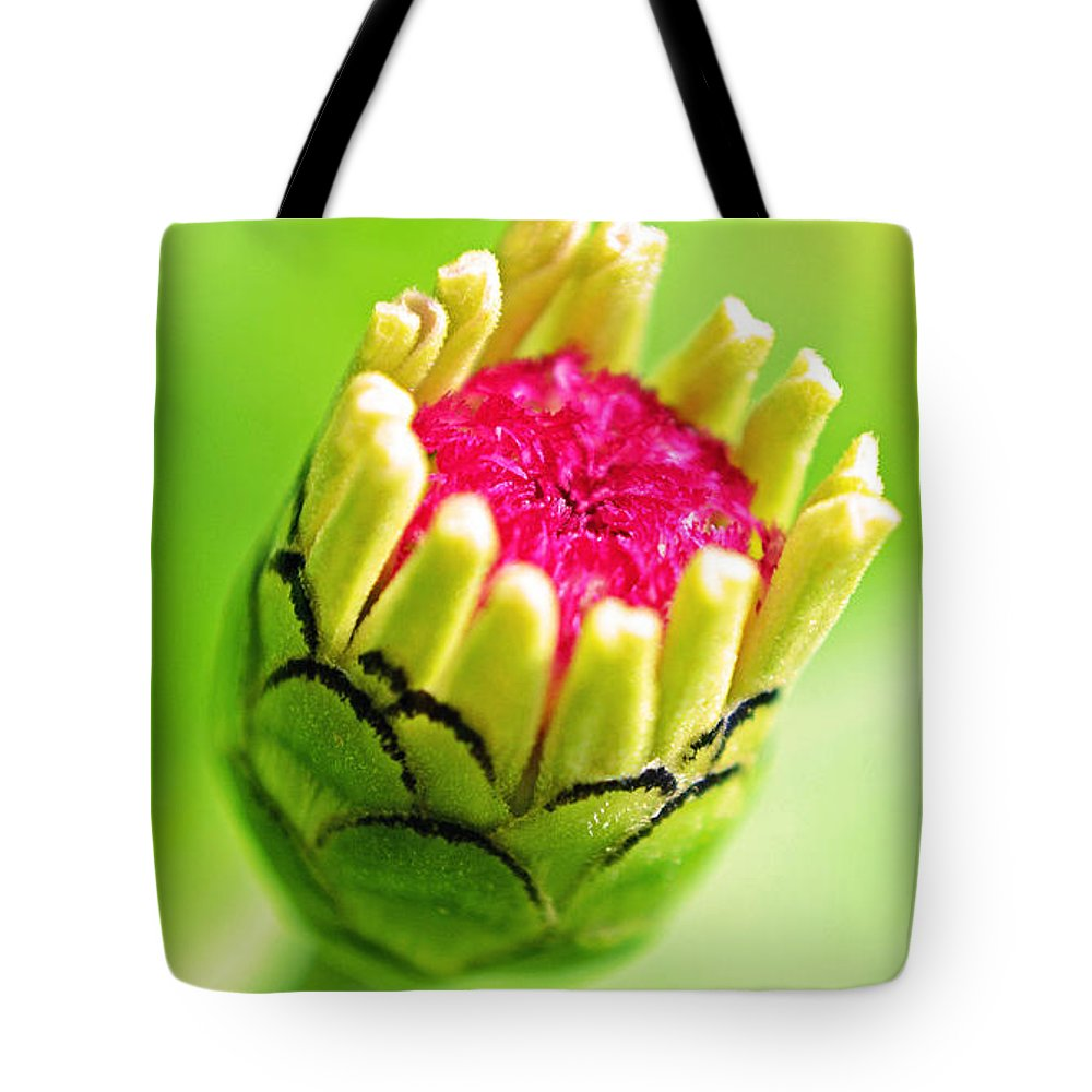 Flower Tote Bag featuring the photograph Against The Wind by Melanie Moraga