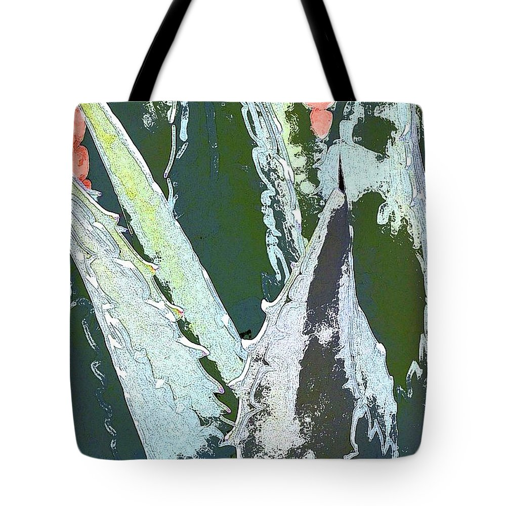 Agave Tote Bag featuring the photograph Agave by Pamela Cooper