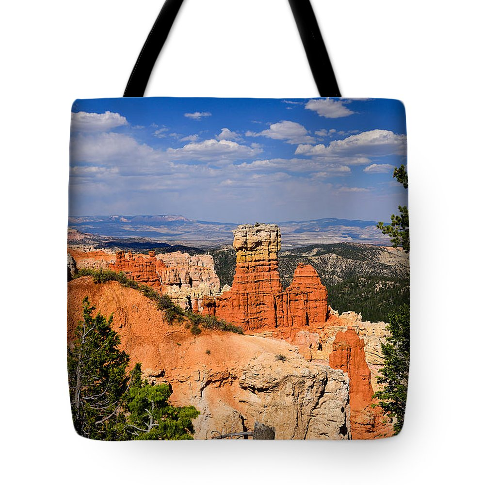 Bryce Canyon Tote Bag featuring the photograph Agua Canyon Bryce Canyon National Park by Greg Norrell