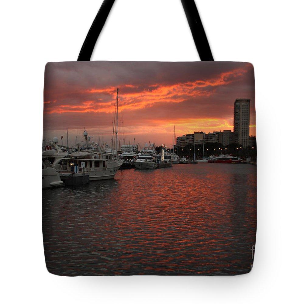 Spain Tote Bag featuring the photograph Alicante by Milena Boeva