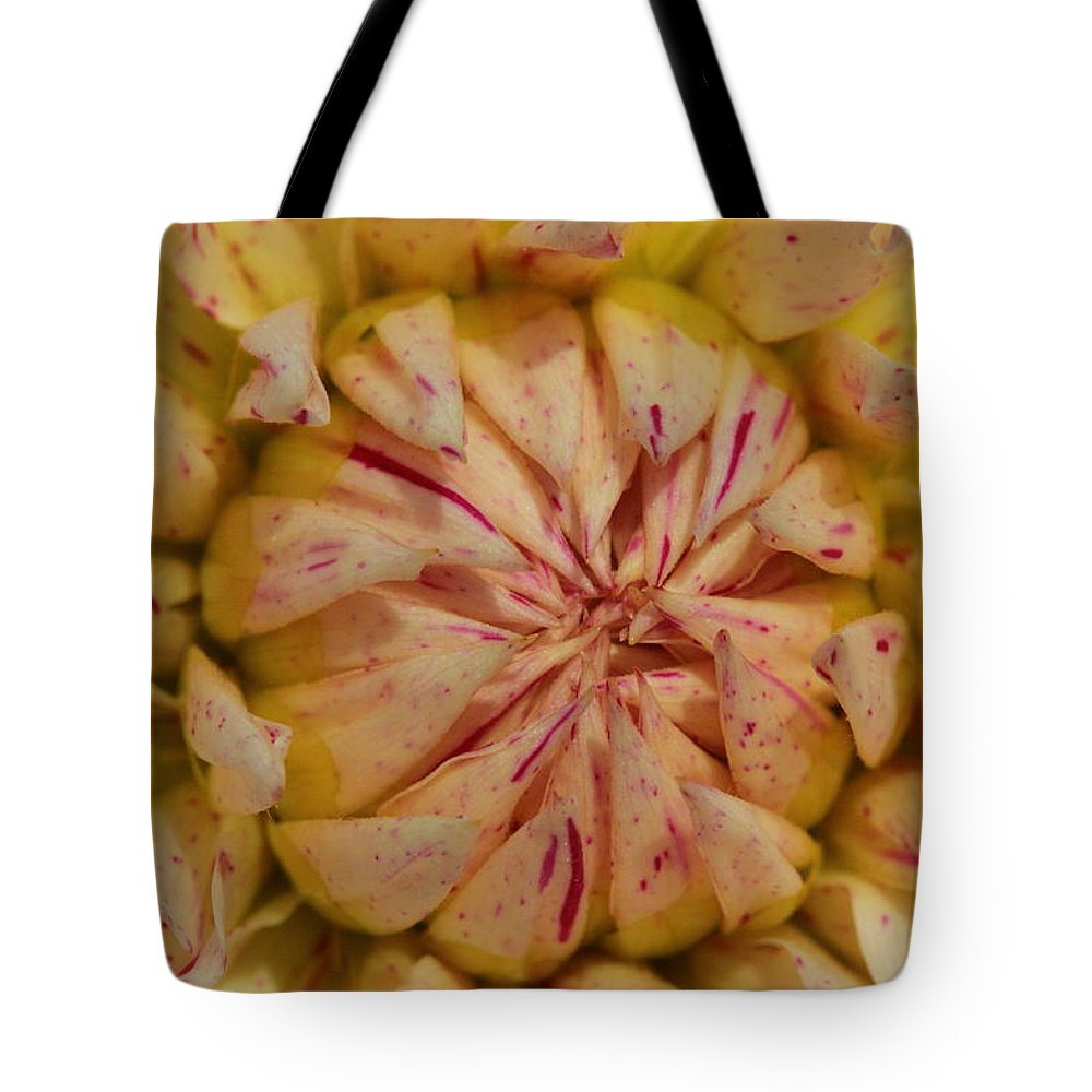 Flower Tote Bag featuring the photograph Alien Mouth by Bruce J Robinson