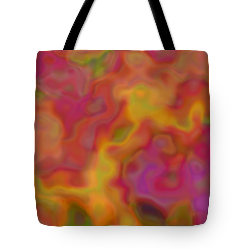Digital Art Tote Bag featuring the digital art Alive by Christy Leigh