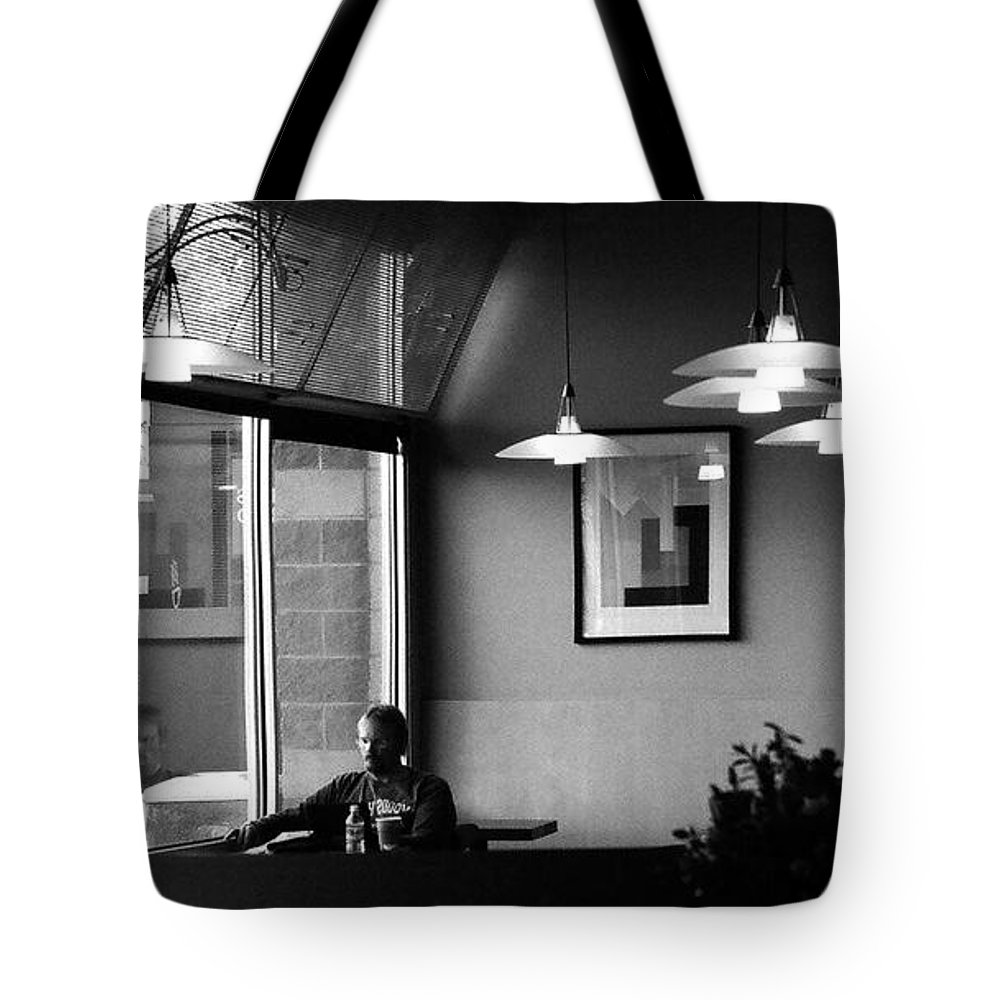 Tote Bag featuring the photograph All By Myself by David Pantuso