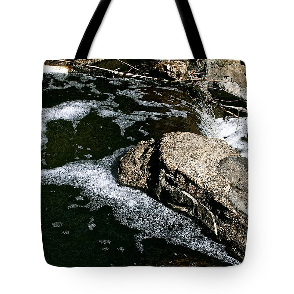 Outdoors Tote Bag featuring the photograph Almost Over by Susan Herber