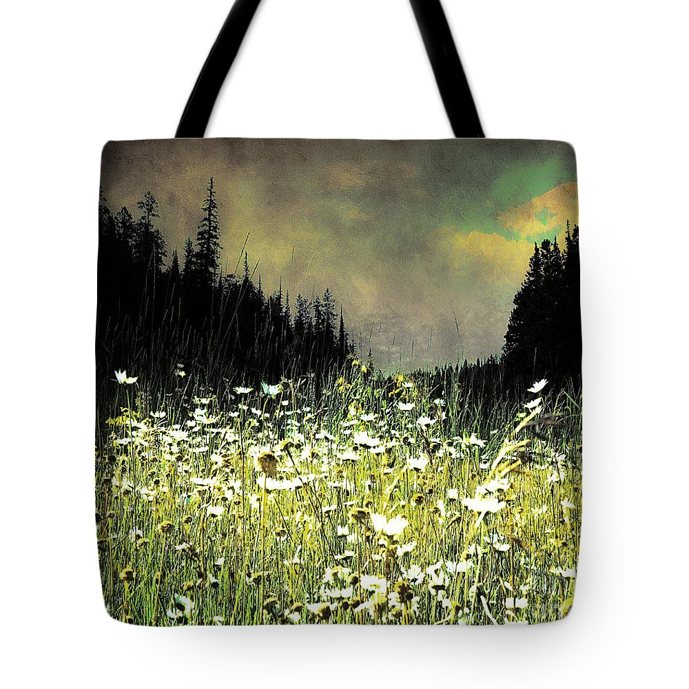 Arne J Hansen Tote Bag featuring the photograph Alpine Meadow by Arne Hansen
