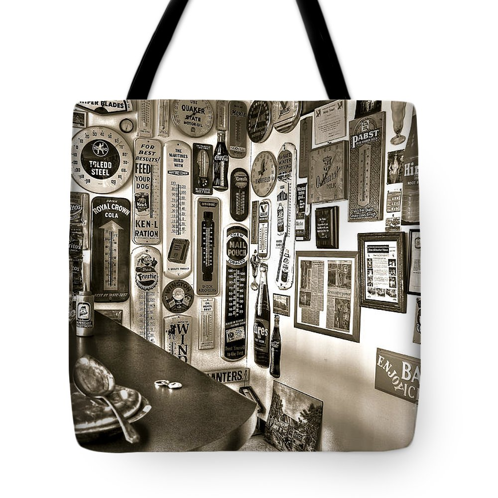 Pie Tote Bag featuring the photograph American Pie by Brenda Giasson