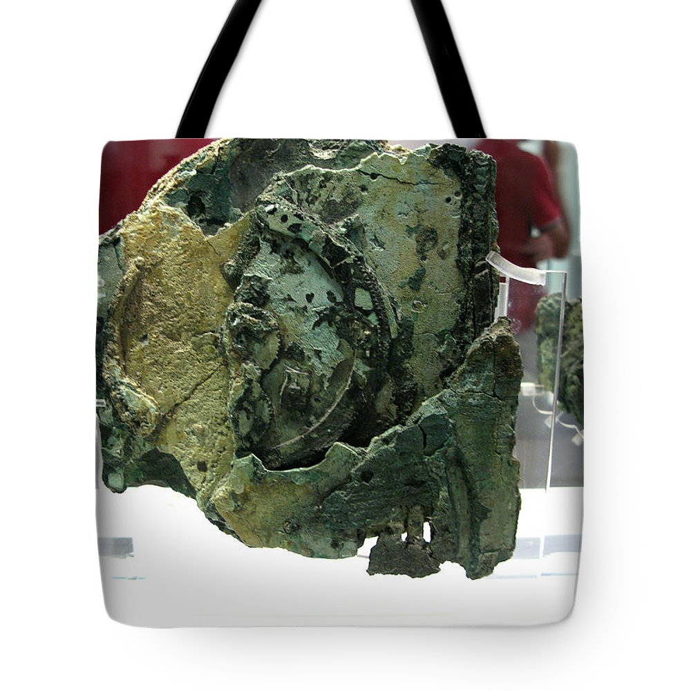 Ancient Computer Tote Bag featuring the photograph Analog Computer by Andonis Katanos