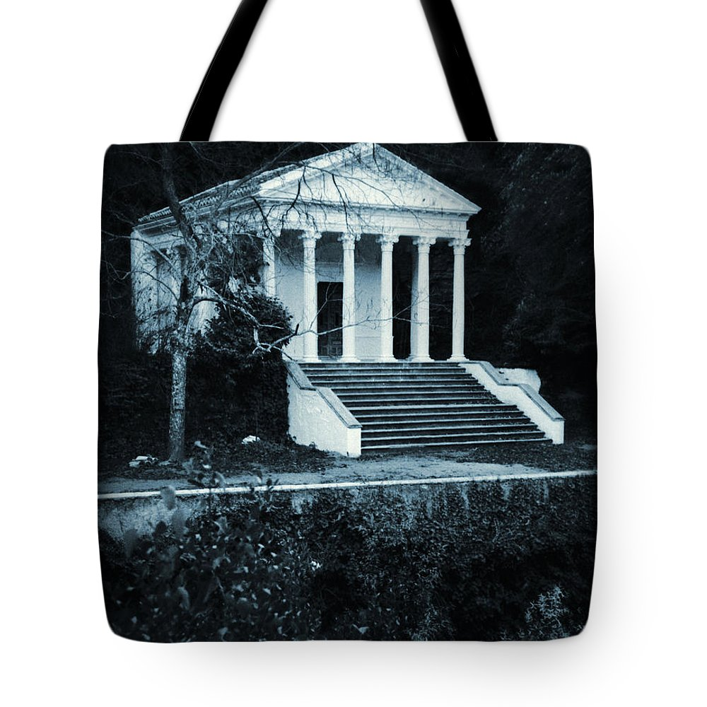 Temple Tote Bag featuring the photograph Ancient Mysteries by David Halperin