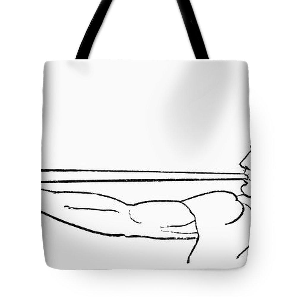Ancient Roman Salpinx Tote Bag