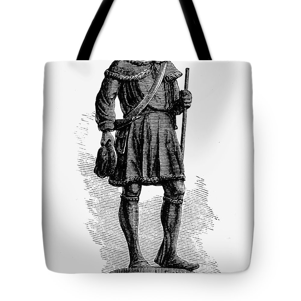 18th Century Tote Bag featuring the photograph Andrew Lewis (1720-1781) by Granger