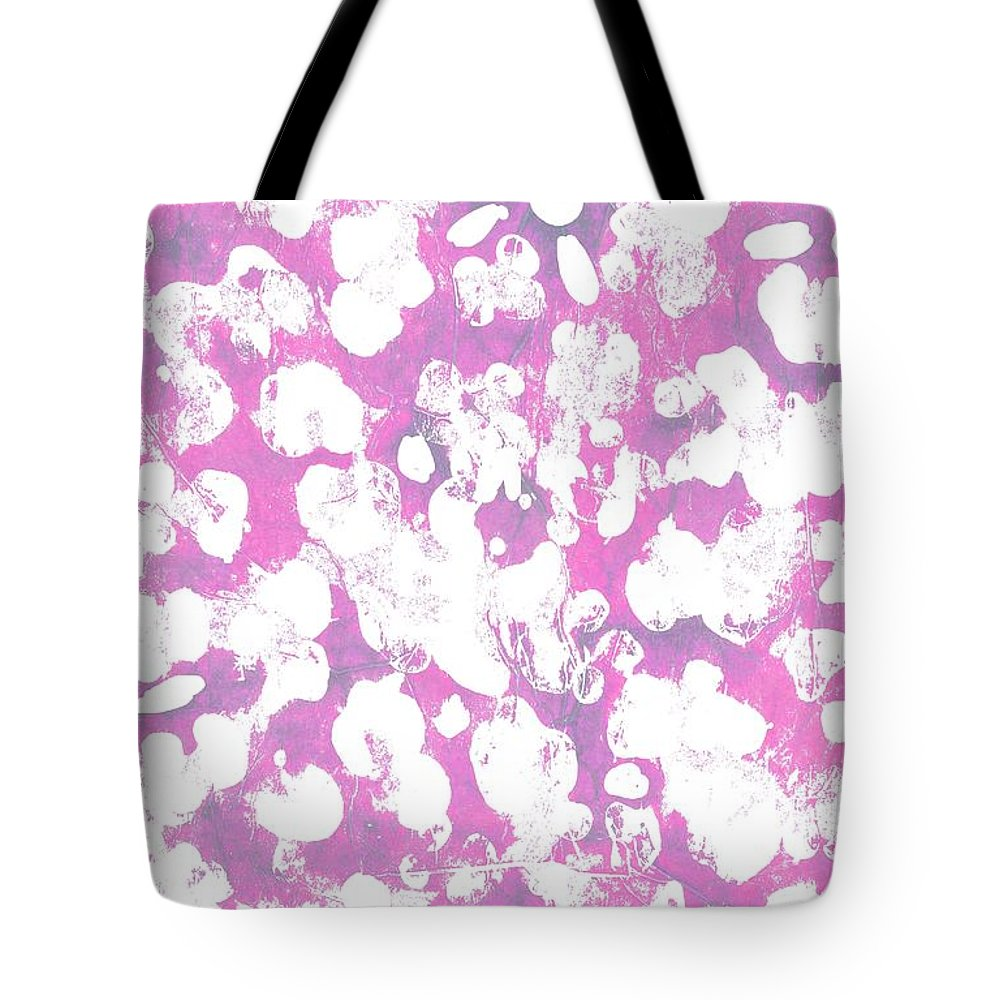 Animal (digital) By Louisa Knight (contemporary Artist) Tote Bag featuring the digital art Animal by Louisa Knight