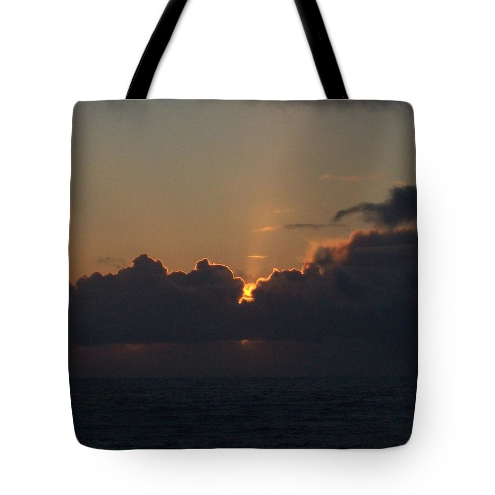 Oregon Coast Sunset Tote Bag featuring the photograph Another Day by John McManus