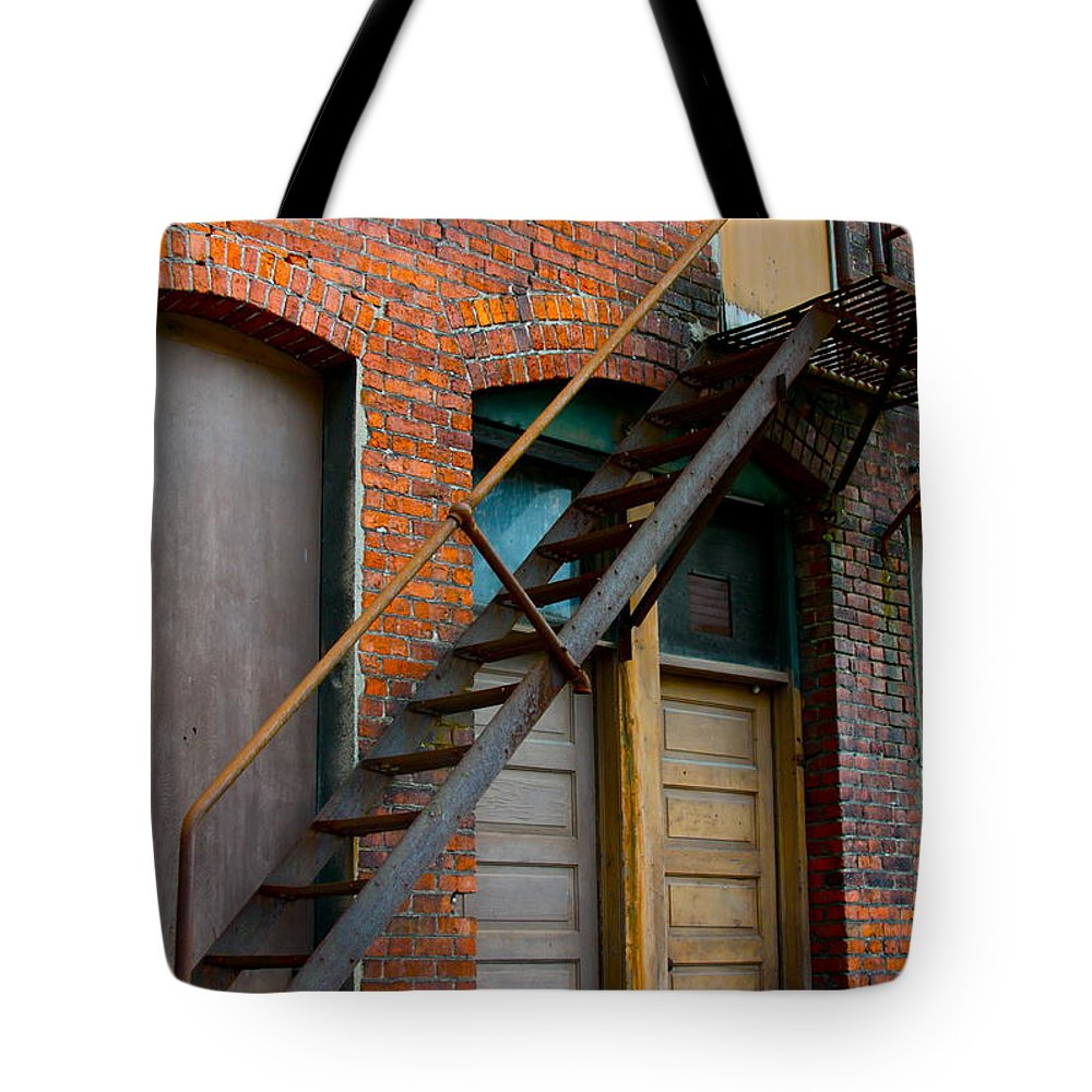 Business Tote Bag featuring the photograph Another Way Out by Karon Melillo DeVega