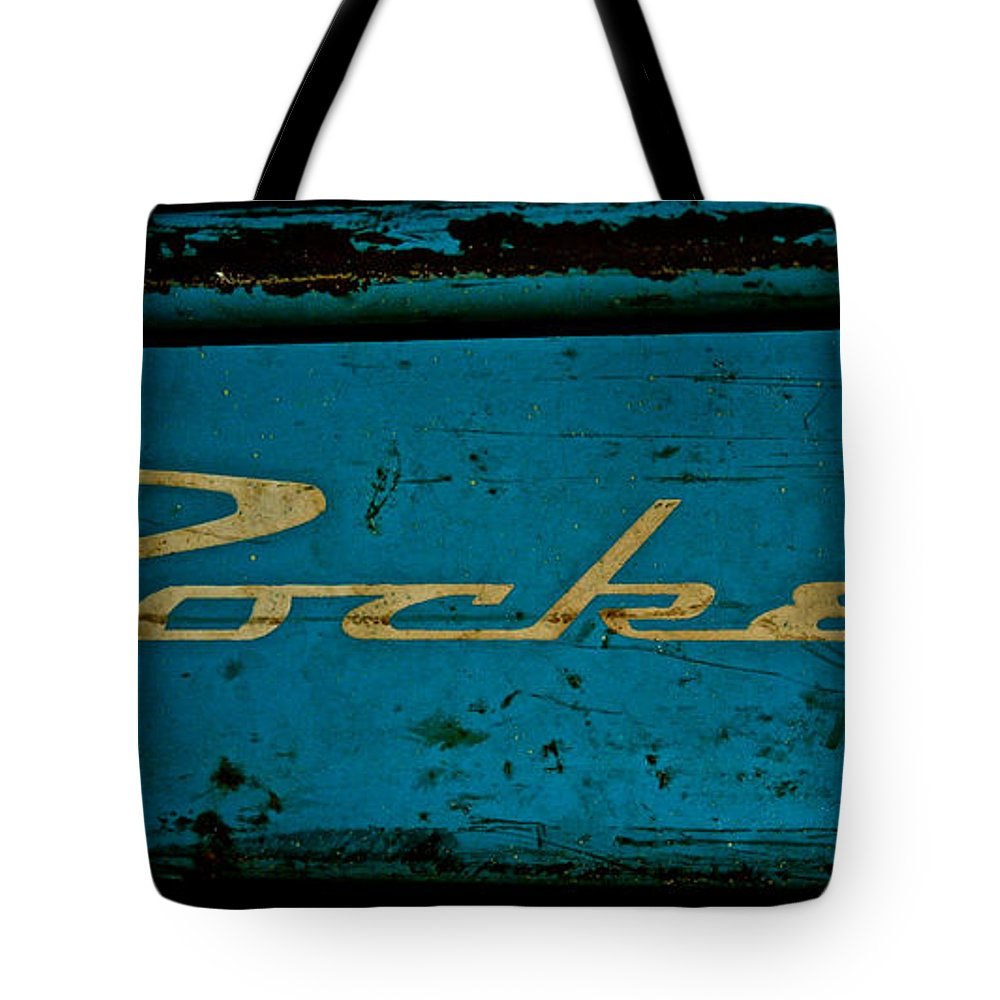 Antique Wagon Tote Bag featuring the photograph Antique Blue Wagon by Susan Herber