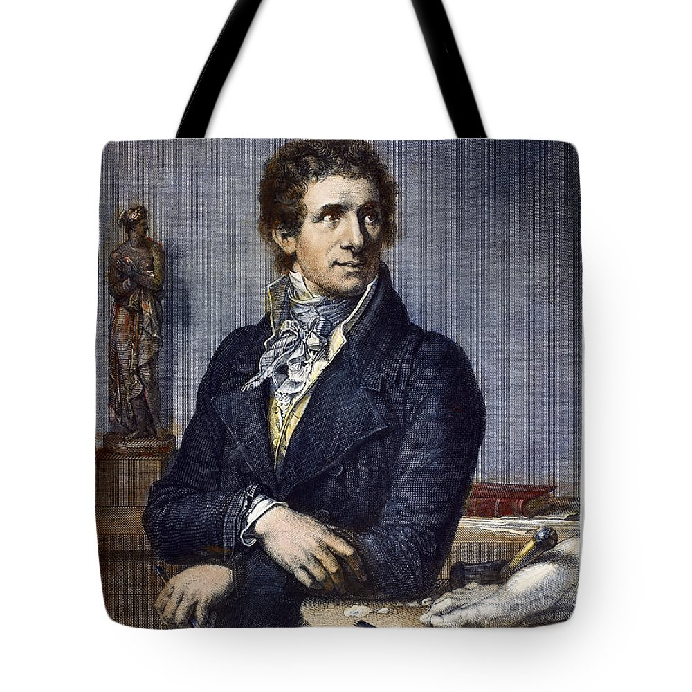 18th Century Tote Bag featuring the photograph Antonio Canova (1757-1822) by Granger