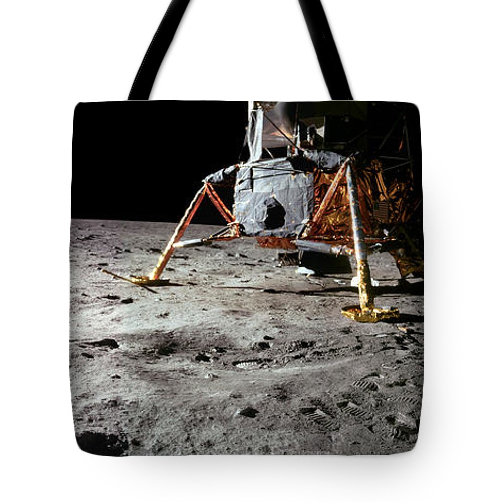 Nasa Tote Bag featuring the photograph Apollo 11 Lunar Module by Nasa