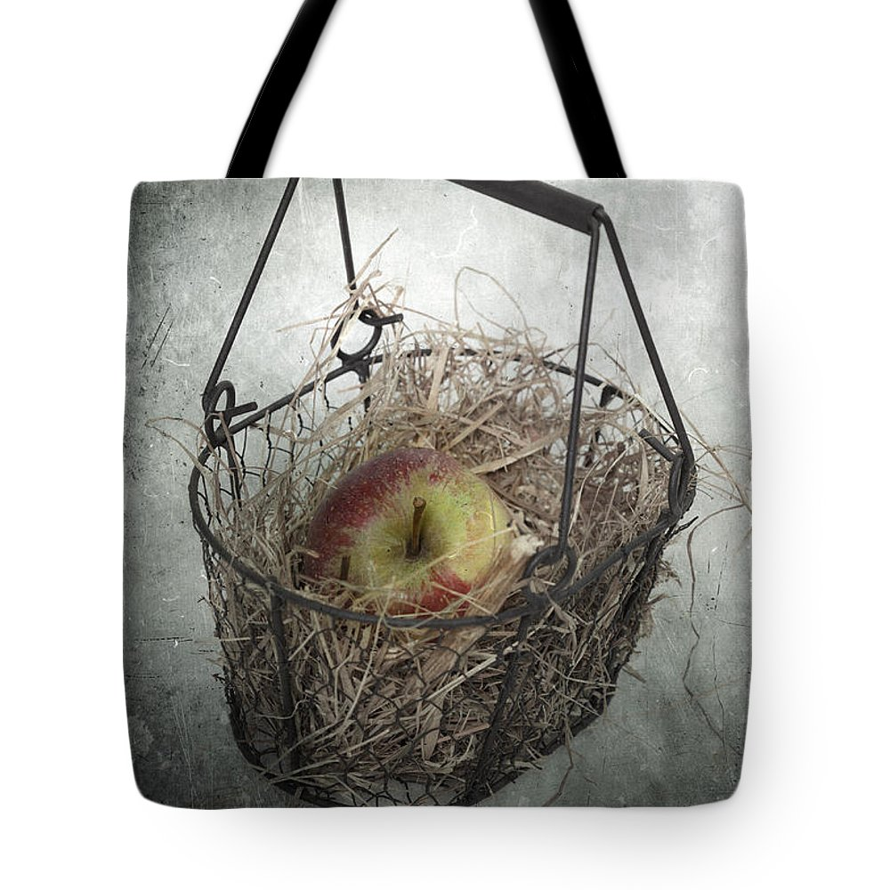 Basket Tote Bag featuring the photograph Apple by Joana Kruse