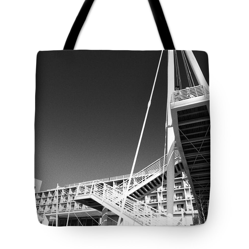 Architecture Tote Bag featuring the photograph Architecture by Gaspar Avila