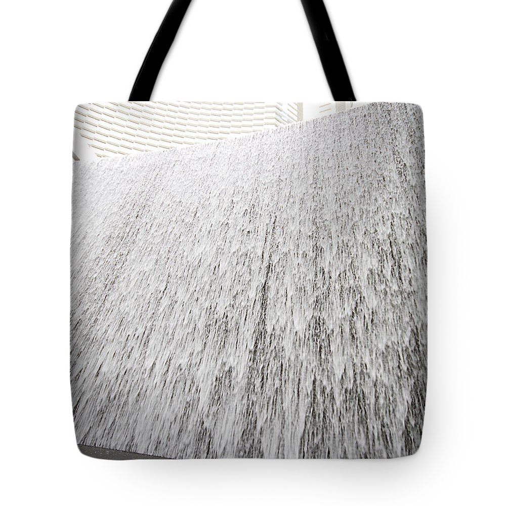 Waterfall Tote Bag featuring the photograph Aria Waterfall 1 by Jessica Velasco
