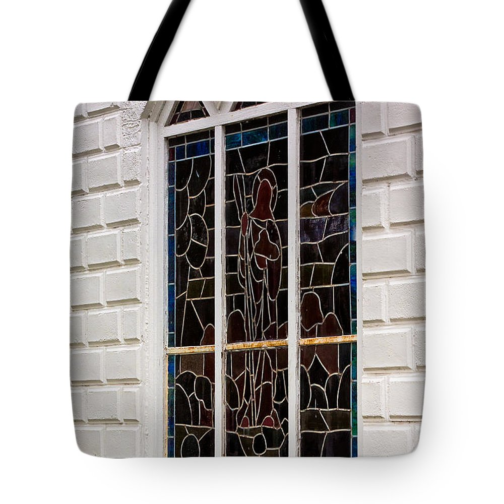 Architectural Features Tote Bag featuring the photograph Art In Glass by Ed Gleichman