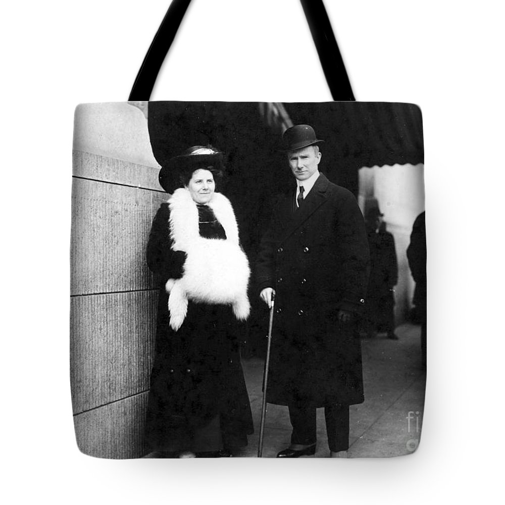 1913 Tote Bag featuring the photograph Arthur Henry Rostron by Granger