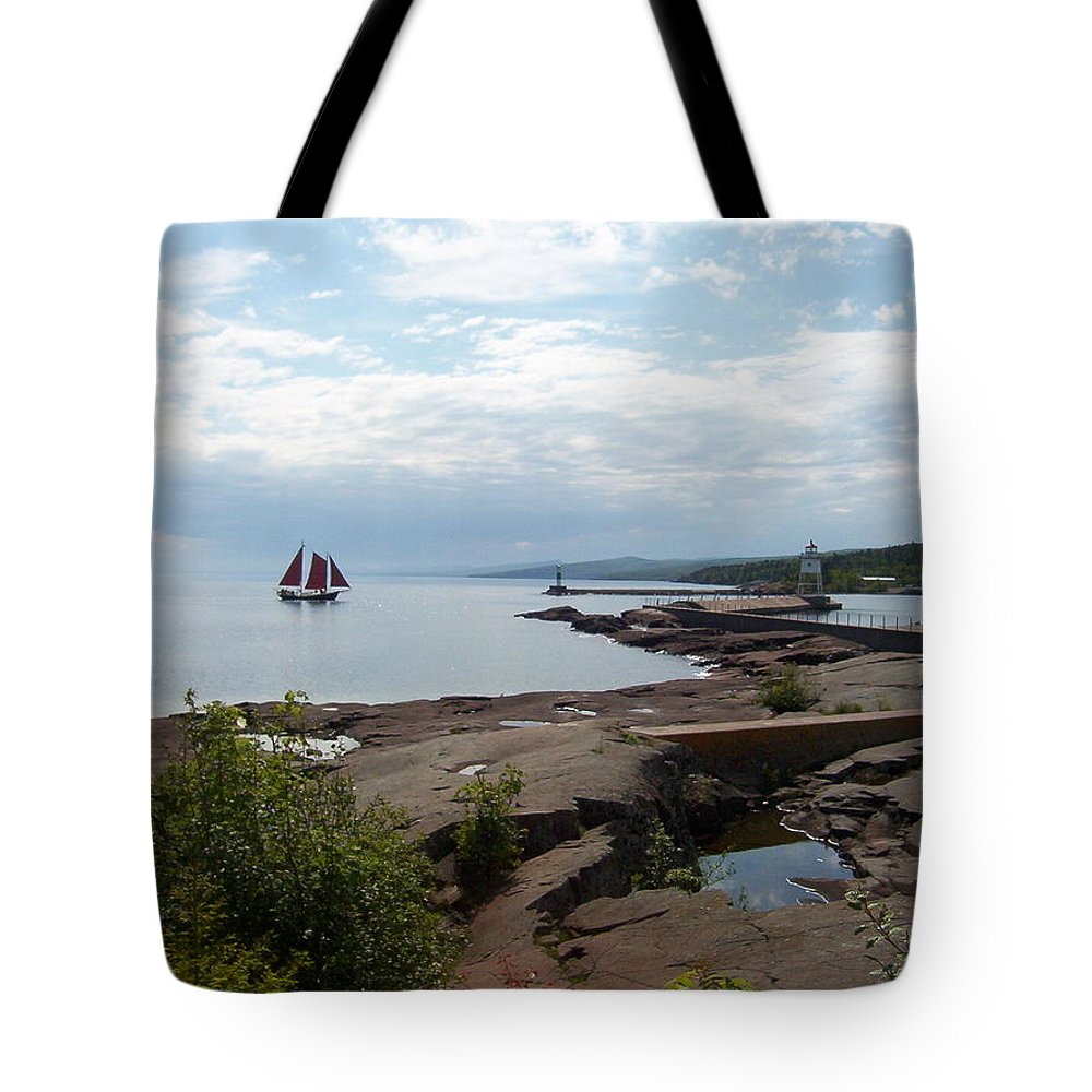 Tote Bag featuring the photograph Artist Point by Joi Electa